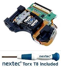 New - Sony PS3 Laser Lens (KES-450A/ KES-450AAA/ KEM-450A/ KEM-450AAA) + Nextec® Torx T8 Security Screwdriver