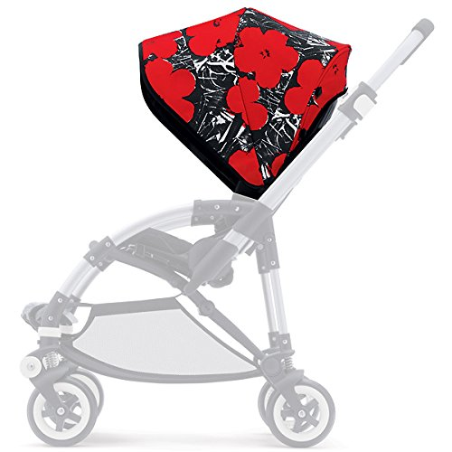 Bugaboo Bee Sun Canopy - Andy Warhol Flowers (Special Edition)