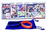 Devin McCourty Football Cards (5) Assorted Bundle - New England Patriots Trading Card Gift Set
