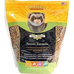 Sunseed Sunscription Vita Prima Ferret Formula, 3-Pound Bag