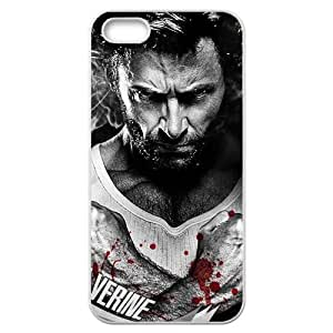 Wolverine Iphone 5 5s White Phone Case Clear