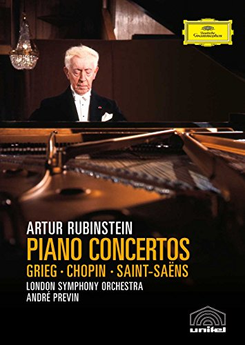 - Grieg, Chopin & Saint-Saens - Piano Concertos / Rubinstein, Previn, London Symphony Orchestra