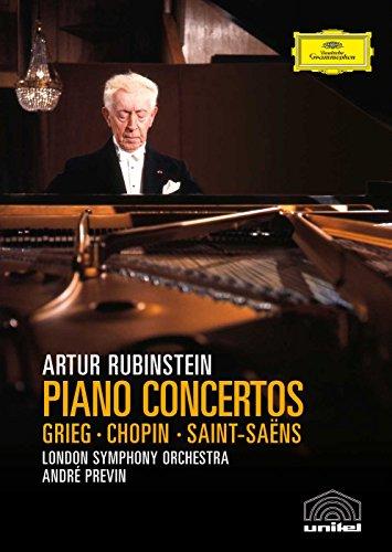 - Grieg, Chopin & Saint-Saens - Piano Concertos / Rubinstein, Previn, London Symphony Orchestra