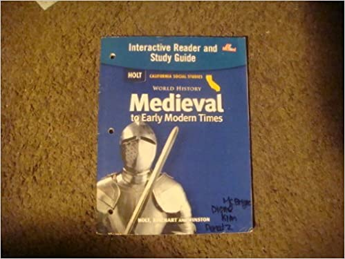 World History Medieval To Early Modern Times Interactive