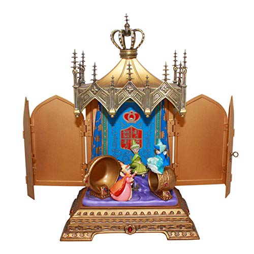 Walt Disney Classics Collection Sleeping Beauty Jeweled Box: Clandestine Conclave, NLE 750 (Gold Circle Dealer ()