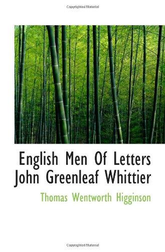 English Men Of Letters John Greenleaf Whittier pdf
