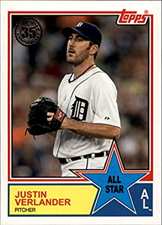 79b94c90b8e 2018 Topps 1983 Topps All-Stars  83AS-31 Justin Verlander Tigers Baseball  MLB