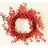 Worth Imports Fall Berry Wreath, 12''