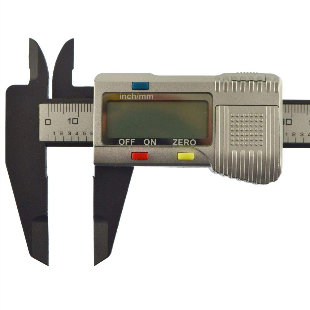 Digital Vernier Caliper Gauge Internal/External LCD Display 6'' / 150mm by Tao tao family