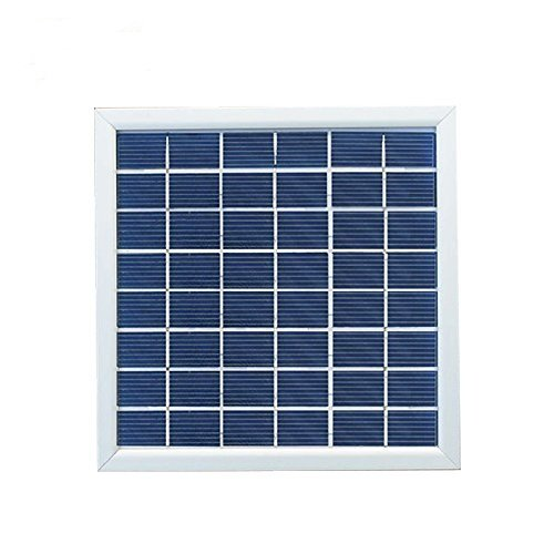 XINPUGUANG Polycrystalline silicon solar panel tempered glass solar module cell for DIY kit LED light charger (4W)