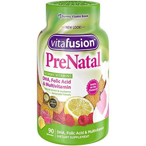 VitaFusion PreNatal Gummies, 90 Count (Pack of 10)