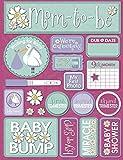 Reminisce Signature Series Dimensional Cardstock Stickers-Pregnancy