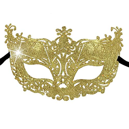 Party Masks - 1pc 11 Styleshot Wholesale Lace Venetian Mask Masquerade Carnival Masked Ball Fancy Dress Costume - Glasses Gold Face That Masquerade Masks Black Animal Kids Over Superhero -