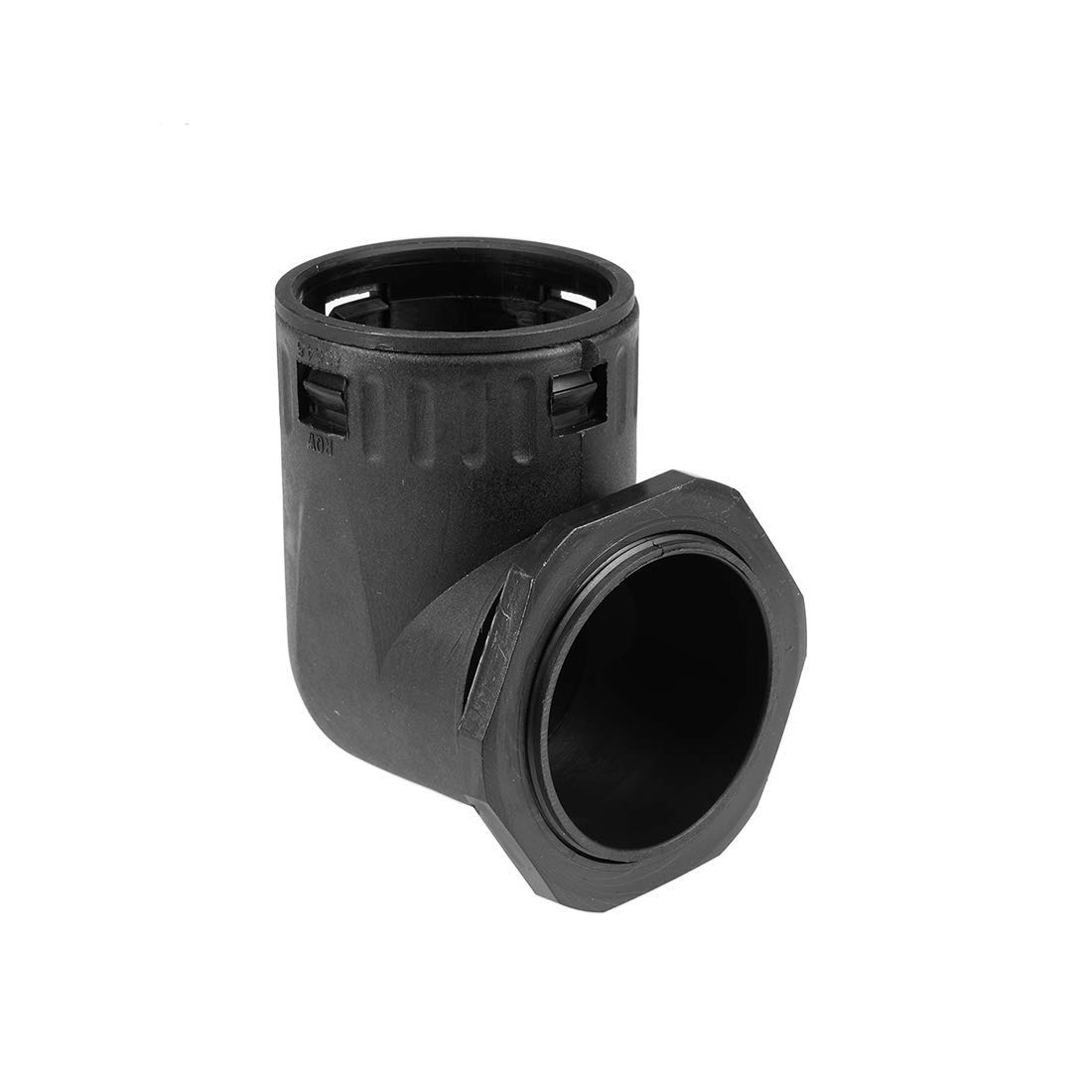 90 degree corrugated pipe connector AD54.5 Duct hose clamps