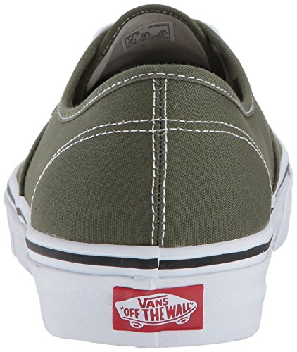 Vans Authentic Damen Winter Moosgrün True White Skate Schuhe