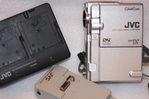 JVC GR-DVM70U Digital Cybercam Camcorder with Built-in Digital Still Mode (Digital Video Mini Camera Jvc Dv)