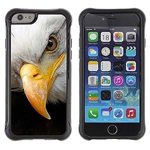 Suave TPU GEL Carcasa Funda Silicona Blando Estuche Caso de protección (para) Apple Iphone 6 / CECELL Phone case / / freedom American symbol bald eagle /