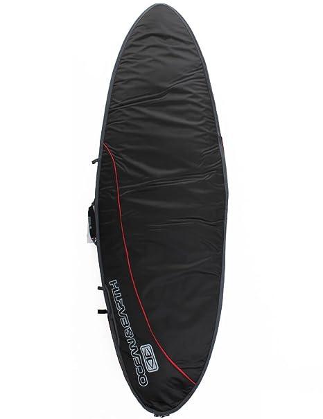 Ocean & Earth Aircon Peces Tabla de Surf Bolsa 10 mm 6 – 8 – Negro