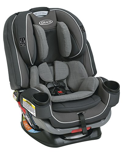 Graco 4Ever Extend2Fit 4-in-1 Convertible Car Seat, Passport