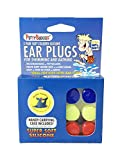 Best Kids Ear Plugs For Swimmings - PUTTY BUDDIES Original Swimming Earplugs, 3-Pair Pack (Red/Blue/Yellow) Review