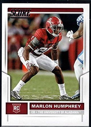 Amazon.com  Football NFL 2017 Score Rookies  409 Marlon Humphrey RC ... 9abb0dcee