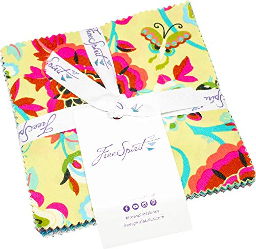 Amy Butler Natural Beauty Charm Pack 42 5-inch Squares Free Spirit