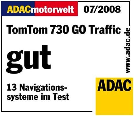 Tomtom Go 730 Traffic Navigationssystem Inkl Tmc Pro Elektronik
