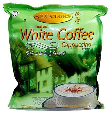 Oro elección instantánea color blanco Café Capuchino premix ...