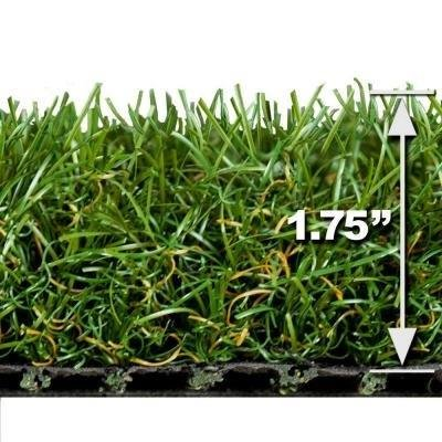 PREMIUM PRO TURF- Diamond 15' x 5' Dual Color Synthetic Grass for Landscaping, Playground Areas, Poolside, pet Areas, Sports Fields, patios, Decks, etc.