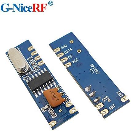 G-NiceRF 2PCS SRX882 315mhz Wireless Ask Receiver RX RF Module