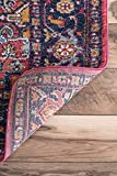 nuLOOM Vonda Fancy Persian Area Rug, 4' x 6', Purple