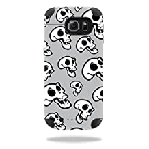 MightySkins Protective Vinyl Skin Decal for Mophie Juice Pack Samsung Galaxy S6 wrap cover sticker skins Laughing Skulls