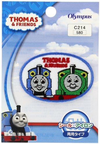 Orimupasu made ãN Thomas the Tank Engine emblem Thomas & Percy C214