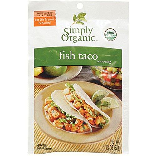 Simply Organic Fish Taco Seasoning (Pack of 3)