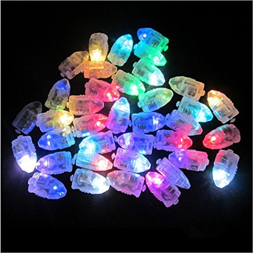 Balloons Colorful LED Lights Lamps Pape...