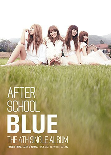 AFTER SCHOOL - Blue (4th Single Album) CD + Photo Booklet + Postcard + Extra Gift Photo