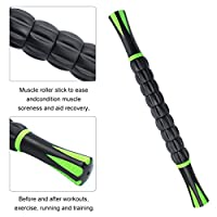 Hippih Muscle Roller Massage Stick Aid Recovery, Reduce Stiffness and PainReduce Risk of Injury Relief Muscle Soreness Compact and Lightweight Size Releasing Lactic Acid Buildup