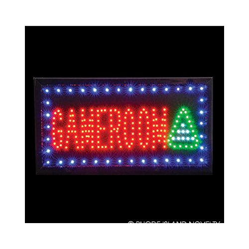 10''X19'' Light-Up ''Game Room'' Sign by Bargain World