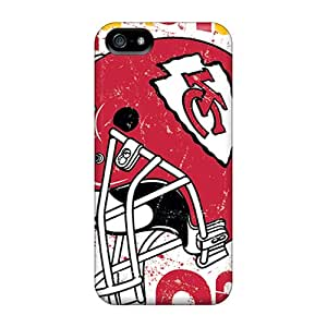 MansourMurray Iphone 5/5s Scratch Resistant Cell-phone Hard Covers Customized Realistic Kansas City Chiefs Skin [Iag12383sirb]