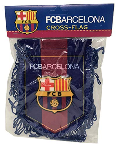 Football/Soccer/Futbal Club Barcelona Pennant for Decoration/Souvenir /Gift || Holds on Glass of Cars and Windows - 1 Qty