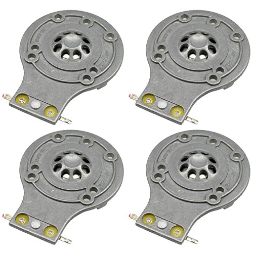 Jrx Series (JBL Diaphragm 4 Pack for 2412H, 2412H-1, Soundfactor, MPro, MP215, MP225, EON15, EON10, JRX100, JRX112, JRX115 TR125, TR126, TR225, D-2412-4)