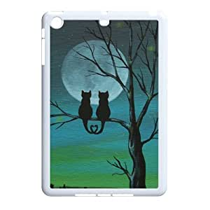 Ipad Mini 2D Customized Hard Back Durable Phone Case with Cat Image