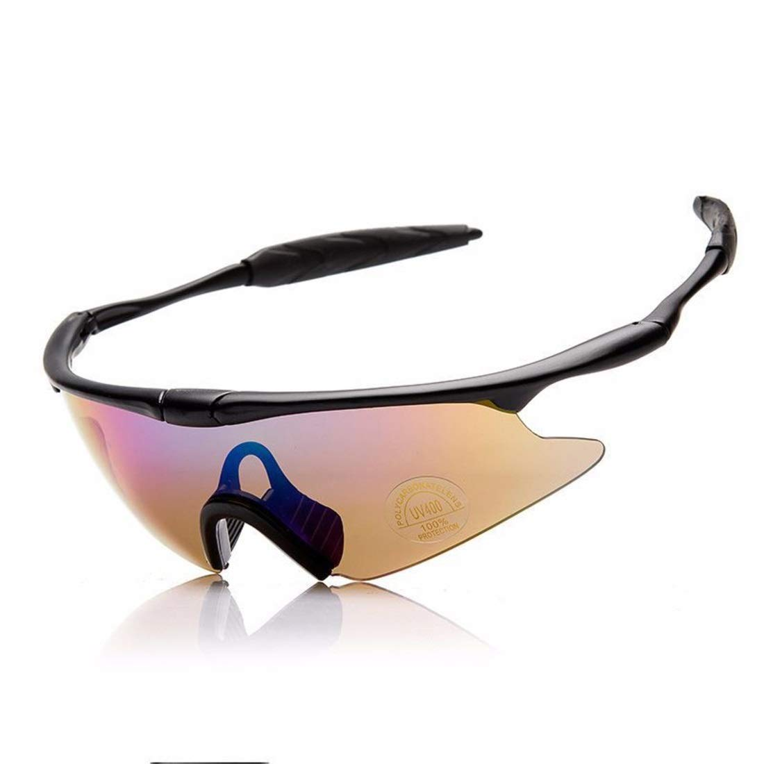 BAOYIT Outdoor Sports Glasses Riding Windproof Eye Protection Glass for Women (Color : B) by BAOYIT