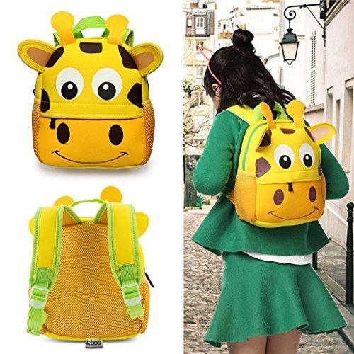 Giraffe Toddler Backpack Waterproof Children