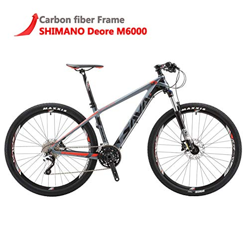 SAVADECK DECK300 Carbon Fiber Mountain Bike 26