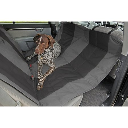 Petego EB Velvet Multi-Fabric Front Seat Protector, Anthracite-Black