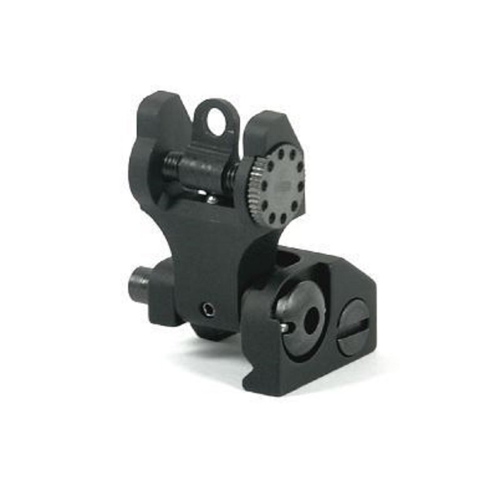 Iron Sights ( HK-A2 ) Tactical Rapid Transition Front & Rear Flip Up Backup Iron Battle Sights Set by Green Blob Outdoors by Green Blob Outdoors (Image #5)