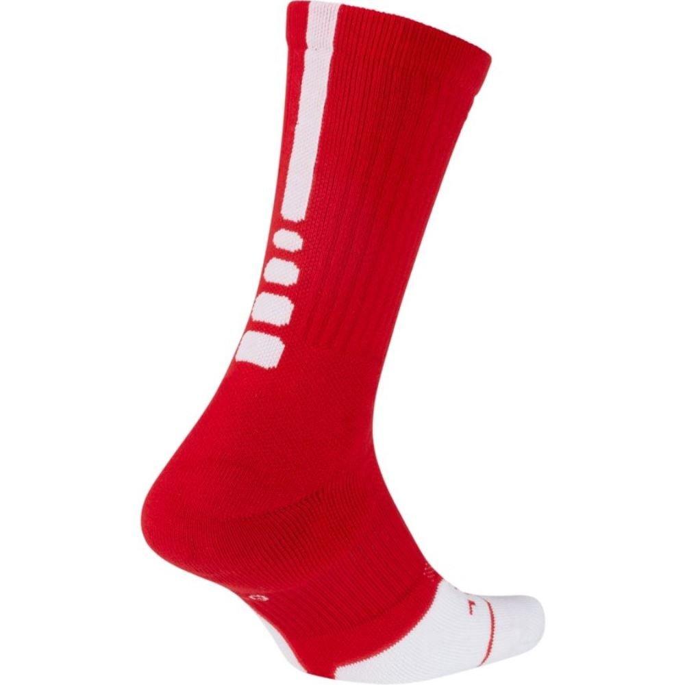 642301ca2 Galleon - Nike Elite Crew 1.5 Team Basketball Socks Medium (Men Size 6-8)  University Red, White SX7035-657