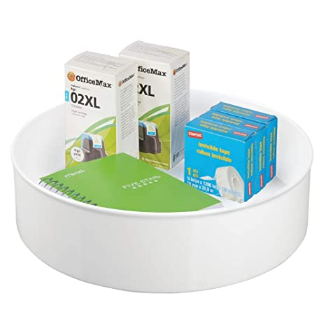 Amazon.com: MDesign Spinning Lazy Susan Turntable Home ...