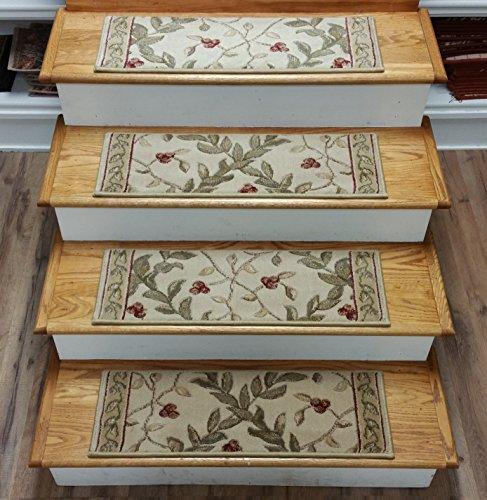 159593   Rug Depot European Carpet Stair Treads   Set Of 13 Treads 27u0027u0027